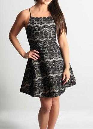 Вечернее платье new look  имитация гипюра