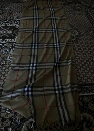 Легкий шарф барбери