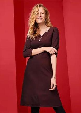 Платье, женское, трикотажное, tcm tchibo, большой размер, eu48/50, ru54/56, 20798