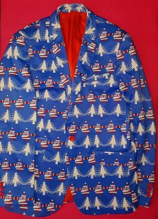 Стильный новогодний пиджак suslo couture размер м