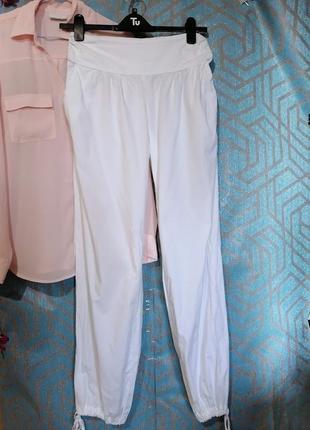 Белые штаны на лето🌺бананы.
