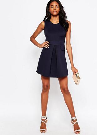 Тотальний розпродаж тільки до 16 березня ! короткое платье с карманами ax paris