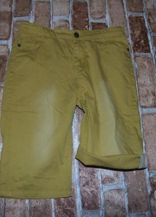 Стильные шорты бермуды   мальчику 12 - 13 лет  rumbl
