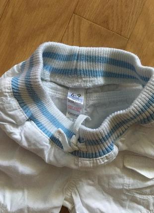 Продам белые шорты с футболкой