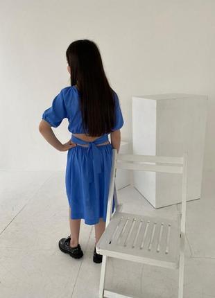 Льон стильне оригінальне плаття якість шикарна