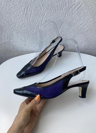 Кожаные туфли donna laura