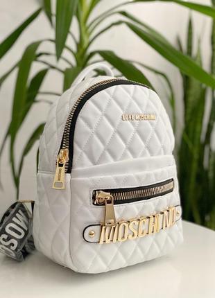Рюкзак в стиле moschino