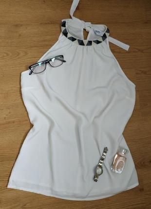 Літня блуза без рукавів