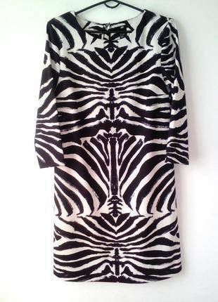 Стильное платье с укороченным рукавом, размер: xs, s