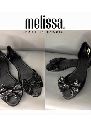 Melissa мыльницы балетки бант пляжная обувь аквашузы кораллки резиновые босоножки crocs