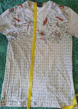 Стильная мужская футболка, модный принт, размер с/м