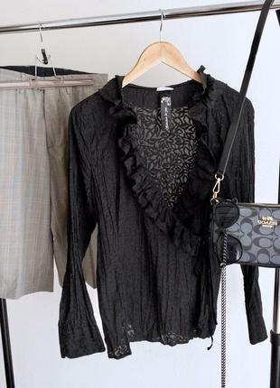 Блуза на завязке
