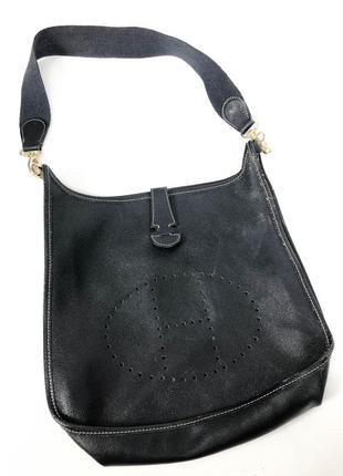 Hermes paris vintage evelyne сумка через плечо shoulder bag