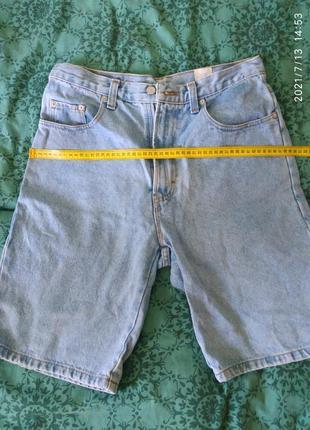 Джинсовые шорты oklahoma,плотный качественный джинс ,размер л