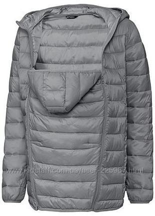 Слинг куртка для беременных esmara куртка переноска