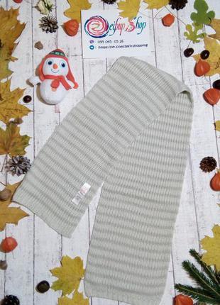 Теплый шарф мягкий и красивый шарфик