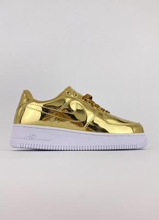 Nike air force golden edition кроссовки женские