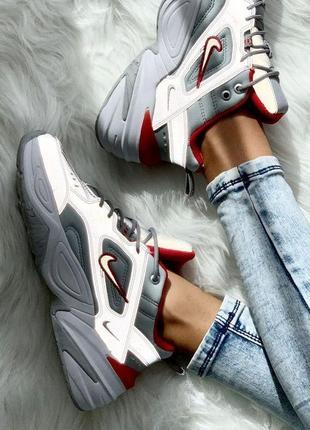 Nike m2k tekno silver reflective