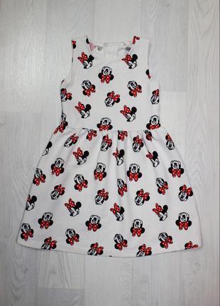 Платье минни маус сукня