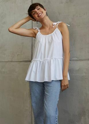 👑 блуза на завязках
