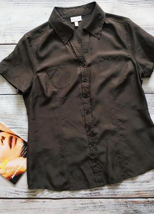Рубашка из 100% шёлка