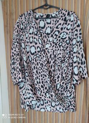 Topshop оригинальная блузка р.48-52