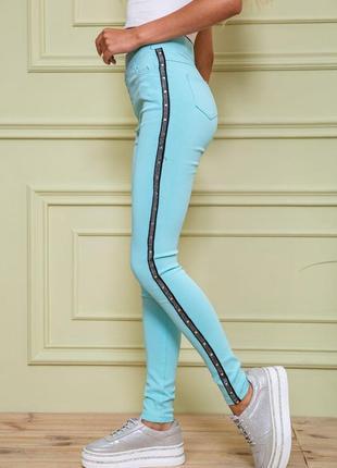 Лосины женские,  леггинсы летние , штаны яркие , штаны приталенные