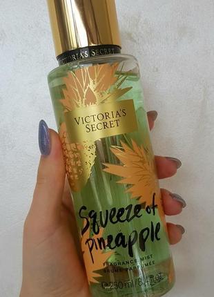 Парфюмированный мист sqveeze of pineapple victoria`s secret