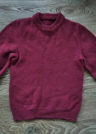 Красивый свитер на 5 - 7 лет