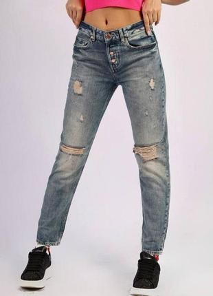 Стильные женские джинсы бойфренды perfect jeans, см.замеры в описании