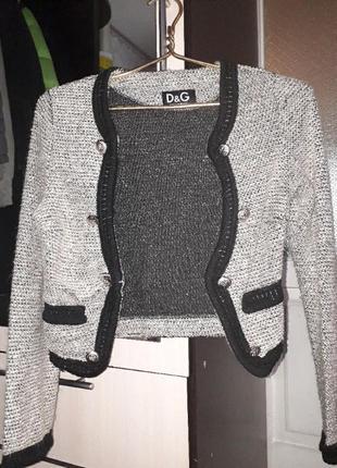 Dolce&gabbana жакет пиджак