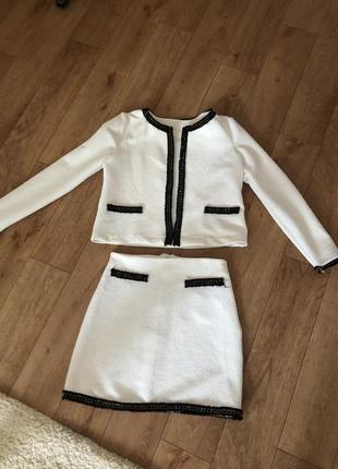 Костюм, юбка + пиджак, италия