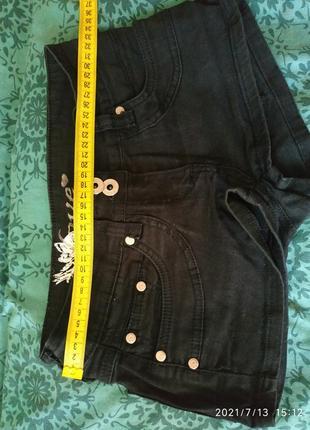 Стильные короткие шорты,размер хс/с
