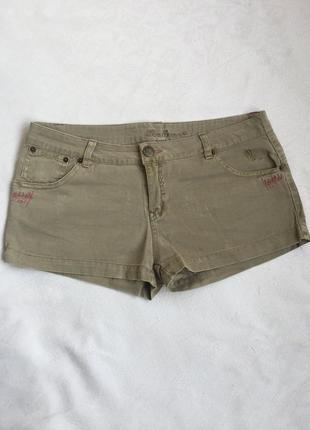 Шорты женские джинсовые короткие раз m-l (46-48)