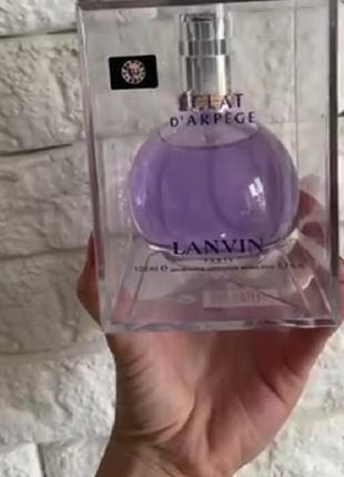 Женская парфюмированная вода lanvin eclat d'arpege 100 мл, акция, кол-во ограничено
