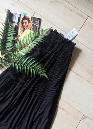 Красивая юбка миди плиссе плиссированная xs s