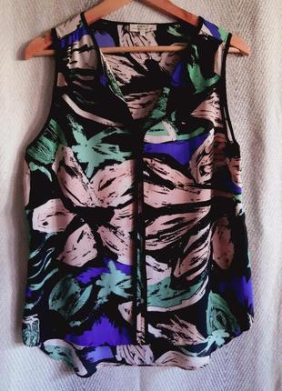 Женская летняя яркая блуза. блузка без рукавов, накидка, туника.