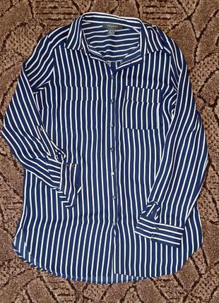 Шикарная шифоновая рубашка