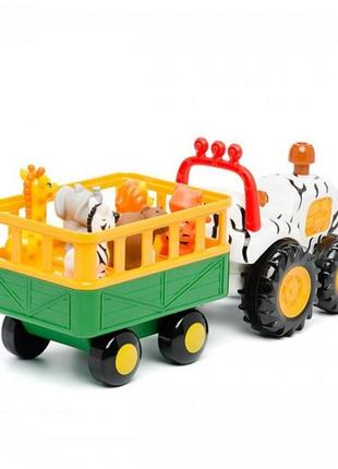 Игровой набор трактор сафари kiddieland как новый