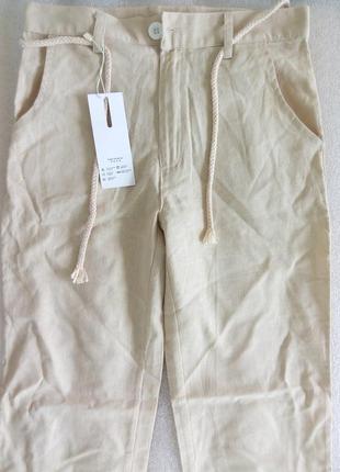 Новые льняные брюки2 фото