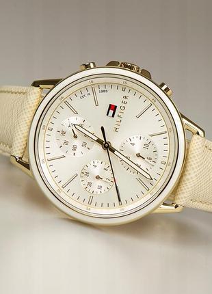 Часы tommy hilfiger с кожаным ремешком оригинал