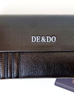 Сумка-портмоне с кистевым ремнем. кожаная барсетка. мужской клатч кошелек. мужская сумка
