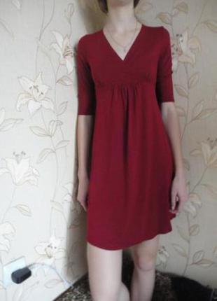 Трикотажное платье ,смотрите замеры