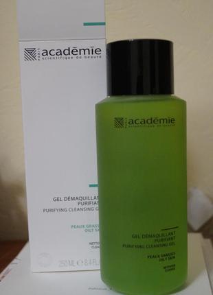 Очищающий гель академи новый academie gel purifiant для умывания умывалка для лица
