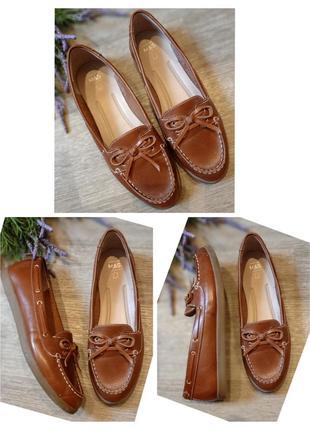 Туфли натуральная кожа m&s