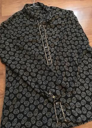 Блуза блузка рубашка сорочка zara
