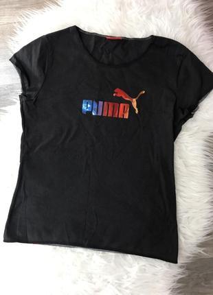 Классная качаственная футболка puma