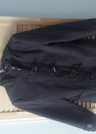 Стилбное пальто для мальчика f&f 9-10yrs