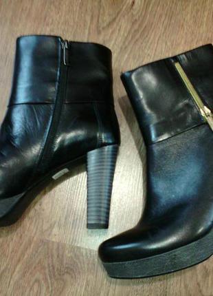 Шкіряні чобітки польського виробництва!