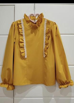 Блуза, сорочка,рубашка для дівчаток